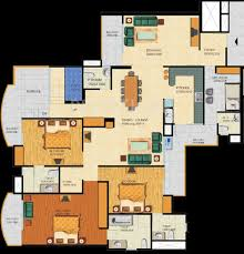 5431 sq ft 5 bhk 6t apartment for sale in supertech emerald court