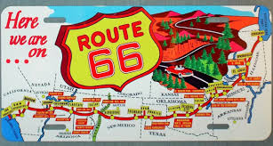 Route 66 Map by Jimmie Is Sending Photo And Info