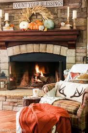 fall fireplace mantel idea goldenboysandme com more