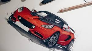 futuristic cars drawings car design abduzeedo