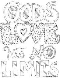 coloring page god u0027s love has no limits coloring book