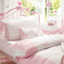 stripe patchwork cotton quilt at laura ashley childrens bedroom