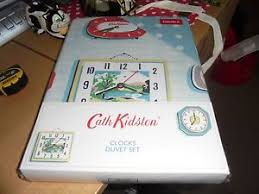 Cath Kidston Single Duvet Cover Bnwt Cath Kidston Clocks Single Duvet Cover And 1 Pillow Case Set