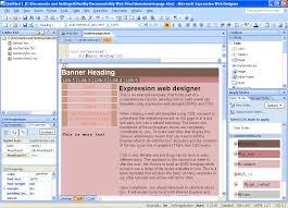 expression web help styling the body of an expression web template