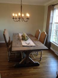 Farmhouse Dining Table With Leaf Buy A Crafted Fancy X Farmhouse Table With Extensions