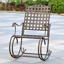 patio rocking chairs metal wrought iron rocking chairs concept home u0026 interior design
