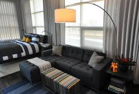 stunning studio apartment furniture decor for living room with