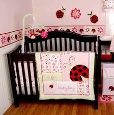 Ladybug Crib Bedding Set Li L L Is For Ladybug 4 Crib Bedding