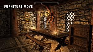 furniture move home re decorator mod at skyrim nexus mods and