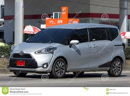 automobile toyota toyota sienta mini mpv van editorial stock image image 84857914