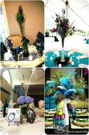 peacock centerpieces peacock wedding decoration