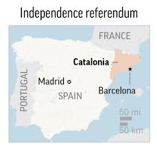 timeline recent events in catalonia u0027s independence drive dividing