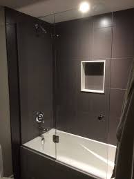 Glass Bathtub Enclosures 35 Best Glass Bathtub Door Images On Pinterest Bathroom Ideas