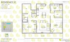 2 bedroom 2 bath floor plans aventura park square floor plans