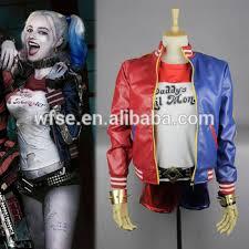 Halloween Costume Harley Quinn 6 Movie 2016 Squad Harley Quinn Costume Women