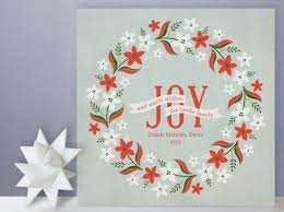 holiday style edition custom christmas cards from minted style