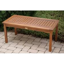Outdoor Storage Coffee Table Furniture Cheap Wood Top Outdoor Coffee Table With Metal Base