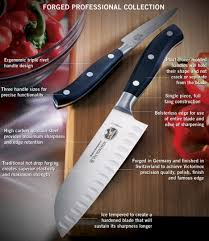 victorinox kitchen knives amazon com victorinox forged 7 knife set with block