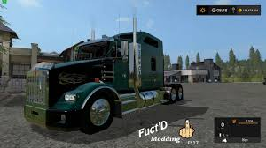 kenworth truck sleepers fs17 kenworth t800 sleeper v1 0 farming simulator 2017 2015