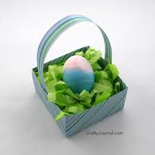 easter basket grass diy easy easter basket grass