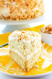 best ever coconut cream cake u2022 food folks and fun
