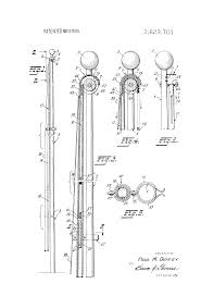 Flag Pole Pulley Patent Us3623701 Device For Installing On A Flagpole