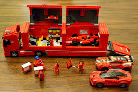 lego ferrari truck lego ferrari f1 race team super best audio friends