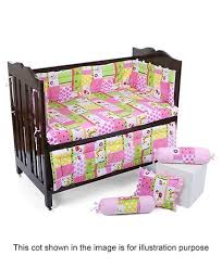 Cot Bedding Set Babyhug Sleepwell Cot Bedding Set Pink In India Buy At
