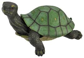 gorgeous lifelike tortoise garden statue turtle decor