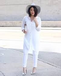 all white casual an overview of how to dress up with all white