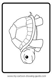 sea turtle drawing coloring page honu sea turtles pinterest inside