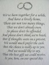 wedding gift quotes for money quotes about wedding wedding poems asking for money gifts not