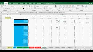 aging report template invoice accounts receivable and payable trackingte in excel
