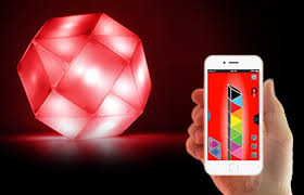 light show smartphone controlled light puzzle