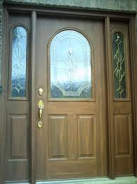 metal door matches exterior