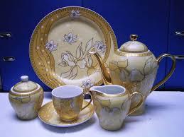 tea cup set 22pcs porcelain tea set tea pot ceramics tea cup id 1810035