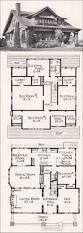 large california bungalow craftsman style home plan 1918