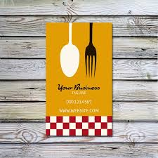 Catering Calling Card Design 33 Creative Catering Business Card Design For Inspiration
