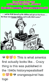 Crazy Wolf Meme - crazy thing is this was published in the 1940s checkout theladies