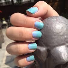 manicuremonday ombre nails with china glaze for audrey u0026 essie u0027s