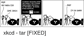 Bobby Tables Xkcd Grassroots Oracle May 2016