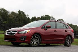 2012 subaru impreza first drive autoblog