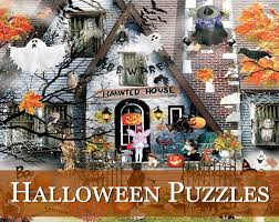 lori mitchell halloween american made holiday jigsaw puzzles traditions