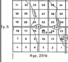 sections townships and ranges section township range maps