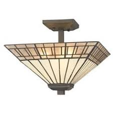 mission tiffany ceiling light arts and crafts style semi flush mount ceiling lights and ceiling