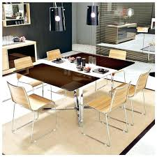 Black Extending Dining Table And Chairs Black Dining Room Furniture Sets Extendable Dining Room Table