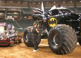 the first grave digger monster truck batmobila batman monster jam truck star car central famous
