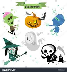 cute halloween bat clipart cute cartoon halloween characters icon set stock vector 324421346
