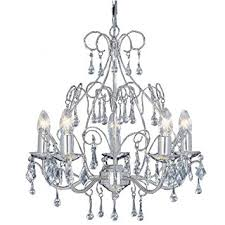 Silver Chandelier Satin Silver Chandelier Ceiling Light Fittings With Glass Dressing