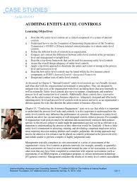 case studies 1 internal audit audit